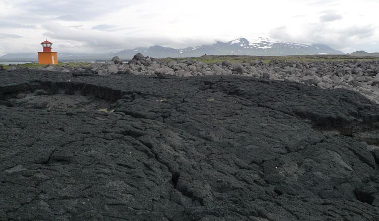 Iceland coastline near Stykkisholmur