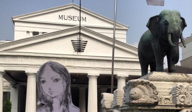 Kancil at Museum Gajah